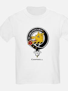 Campbell Clan Crest Badge Kids T-Shirt