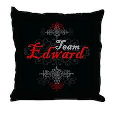 Team Edward Vampire Throw Pillow