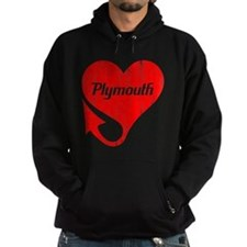 Plymouth Heart - Weathered Hoodie