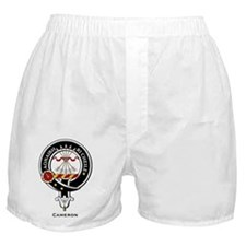 Cameron Clan Crest Badge Boxer Shorts