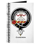 Cameron Clan Crest Badge Journal
