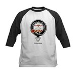 Cameron Clan Crest Badge Kids Baseball Jersey