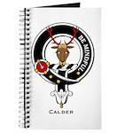 Calder Clan Crest Badge Journal
