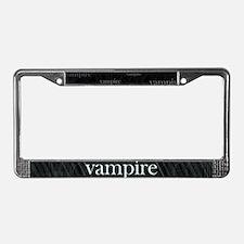 Vampire Gothic License Plate Frame