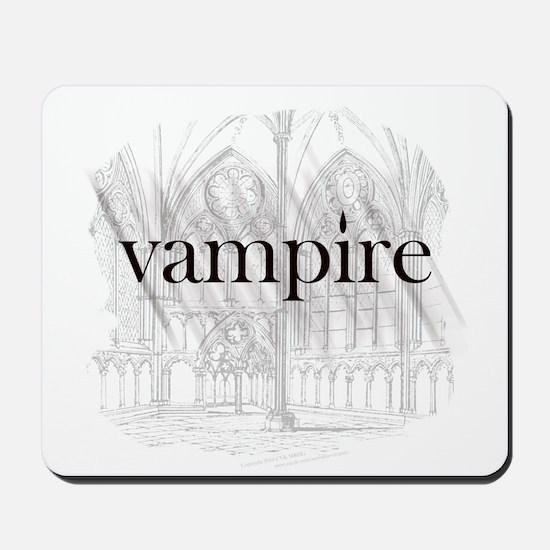 Vampire Gothic Mousepad