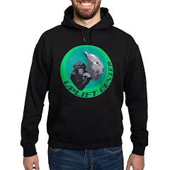 Earth Uplift Center Basic Hoodie (dark)