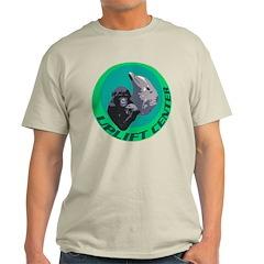 Earth Uplift Center Basic Light T-Shirt