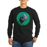 Earth Uplift Center Basic Long Sleeve Dark T-Shirt