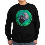 Earth Uplift Center Basic Sweatshirt (dark)