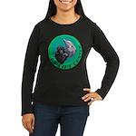 Earth Uplift Center Basic Women's Long Sleeve Dark