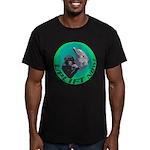 Earth Uplift Center Basic Men's Fitted T-Shirt (da