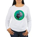 Earth Uplift Center Basic Women's Long Sleeve T-Sh