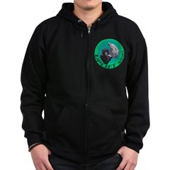 Earth Uplift Center Basic Zip Hoodie