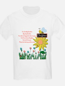 You Are My Sunshine Daughter Custom T-Shirt