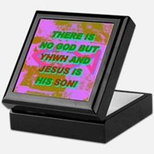 THERE IS NO GOD BUT YHWH AND JESUS IS HIS SON! Kee