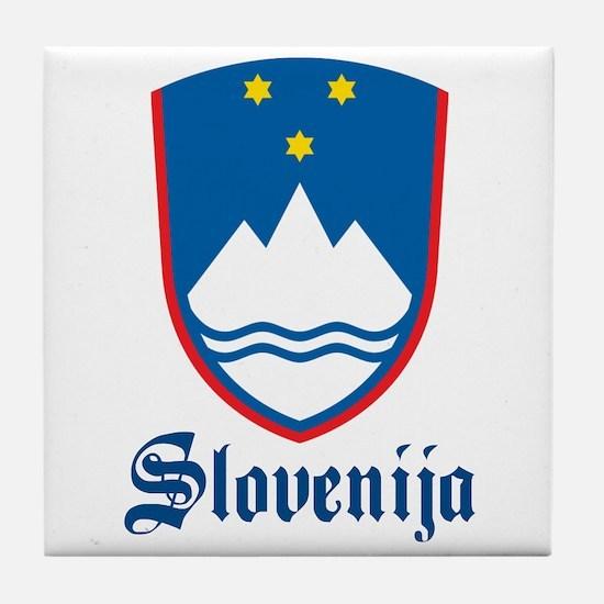 Slovenia Tile Coaster