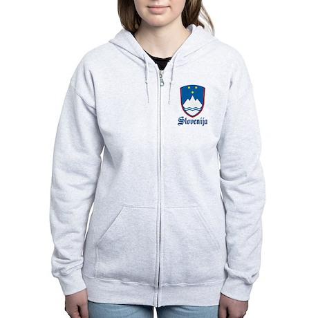 Slovenia Women's Zip Hoodie