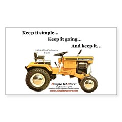 Keep it Simple Rectangle Decal