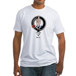 Boyd Clan Crest Badge Fitted T-Shirt