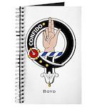 Boyd Clan Crest Badge Journal