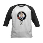 Boyd Clan Crest Badge Kids Baseball Jersey