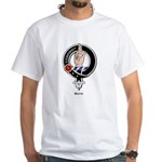 Boyd Clan Crest Badge White T-Shirt