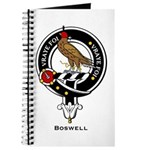 Boswell Clan Crest Badge Journal