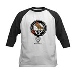 Boswell Clan Crest Badge Kids Baseball Jersey