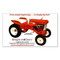 Model 700 Rectangle Decal