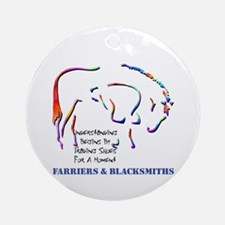 Farriers & Blacksmiths Ornament (Round)