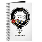 Bethune Clan Crest Badge Journal