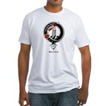Balfour Clan Crest Badge Fitted T-Shirt