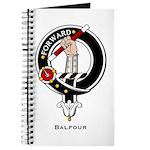 Balfour Clan Crest Badge Journal