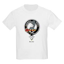Baird Clan Crest Badge Kids T-Shirt