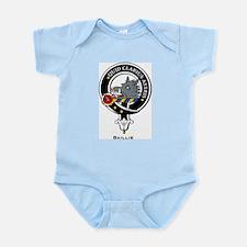 Baillie Clan Crest Badge Infant Creeper