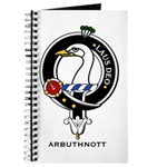 Arbuthnott Clan Crest Badge Journal