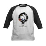Arbuthnott Clan Crest Badge Kids Baseball Jersey