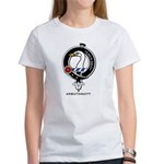 Arbuthnott Clan Crest Badge Women's T-Shirt