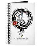 Anstruther Clan Crest Badge Journal