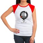 Anstruther Clan Crest Badge Women's Cap Sleeve T-S