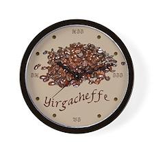 Yirgacheffe Coffee Wall Clock