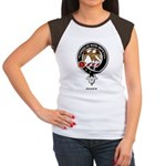 Agnew Clan Crest Badge Women's Cap Sleeve T-Shirt