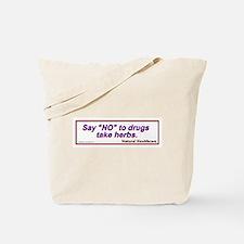 Unique Holistic health Tote Bag