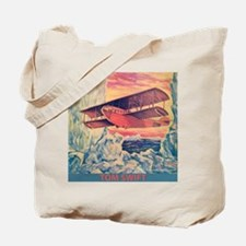 Air Scout and Flying Boat Tote Bag