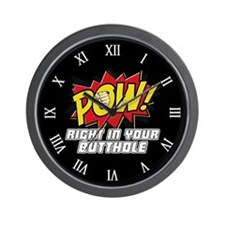 Pow! Wall Clock