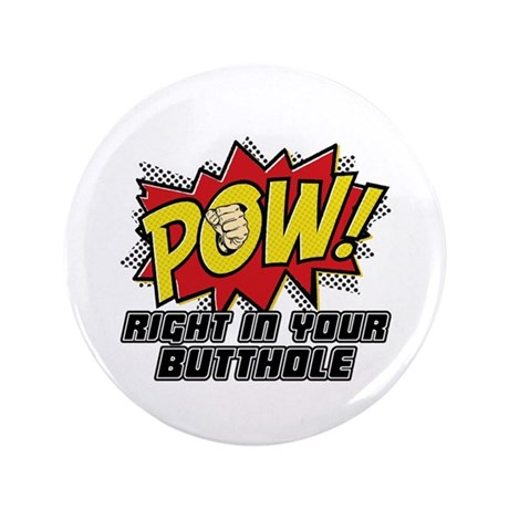 "Pow! 3.5"" Button (100 pack)"