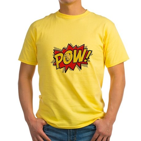 Pow! 2 Yellow T-Shirt
