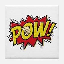 Pow! 2 Tile Coaster