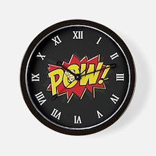 Pow! 2 Wall Clock