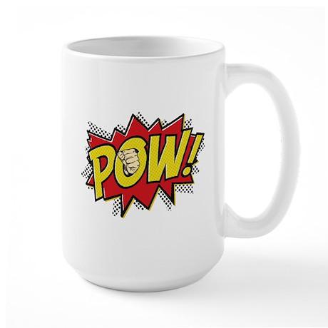 Pow! 2 Large Mug